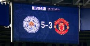 Premiere League Leicester Man United