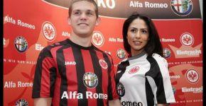 Alfa Romeo Sponsor of Eintracht Frankfurt