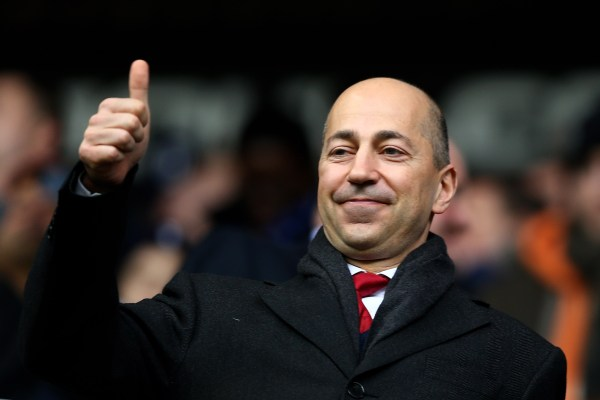 LONDON, ENGLAND - MARCH 03: Arsenal Chief Executive Ivan Gazidis looks on prior to kickoff during the Barclays Premier League match between Tottenham Hotspur and Arsenal FC at White Hart Lane on March 3, 2013 in London, England. (Photo by Paul Gilham/Getty Images)