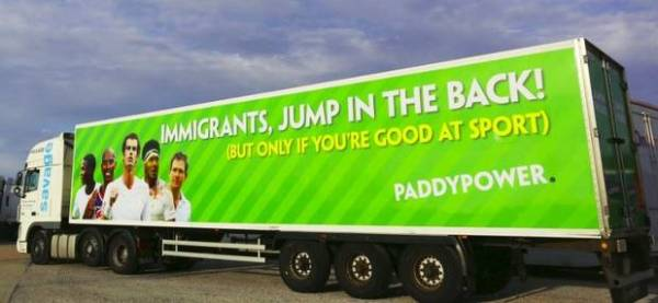 Paddy power Immigration