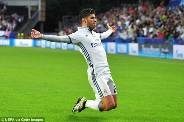 Marco Asensio Champions League 2016 - 2017