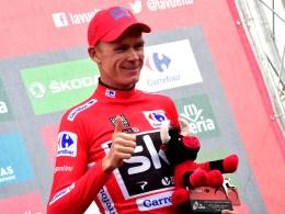 Chris Froome La Vuelta