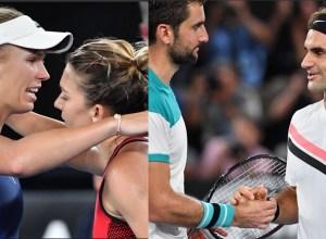 Australian-Open-2018-Wozniacki-Halep-Federer-Cilic