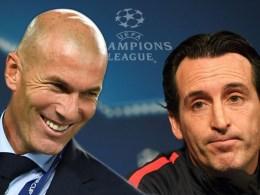 Champions League 2017-2018 Emery Zidane