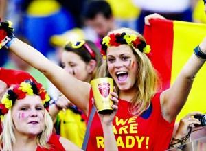 Belgium-supporters