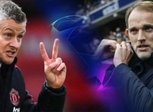 Soskjaer-Tuchel-PSG-Man-United-UCL-2019