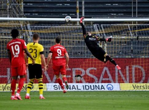 Kimmich goal in Dortmund v Bayern Munchen