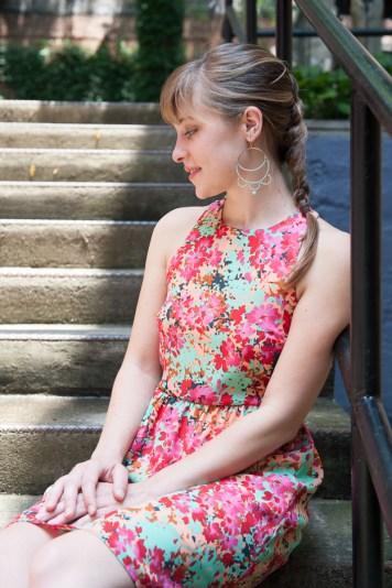 Nouveau Beaded Lace Earrings by Seven Swans