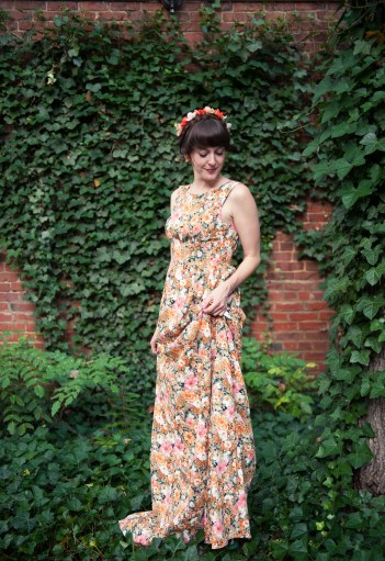 Floral Maxi Dress by Ark & Co