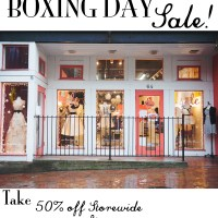 Boxing Day Sale 2013!
