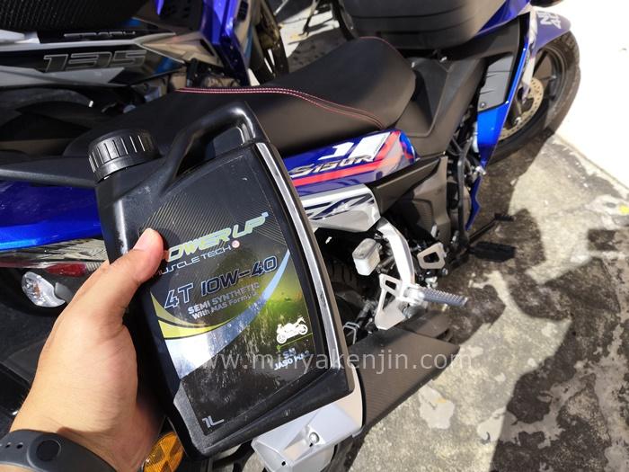 minyak hitam terbaik, minyak hitam rs150, minyak hitam y15zr, minyak enjin motosikal