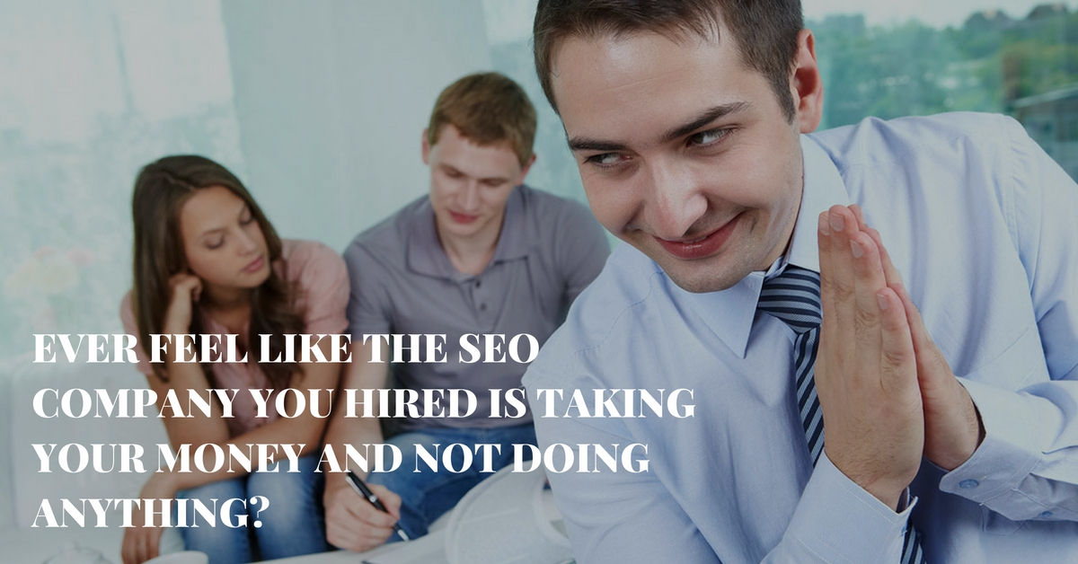 audit the work your seo company is doing