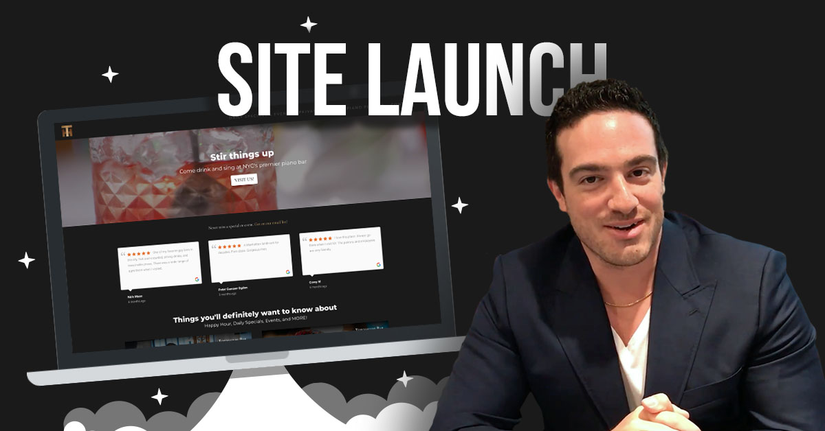 site launch townhouse NY
