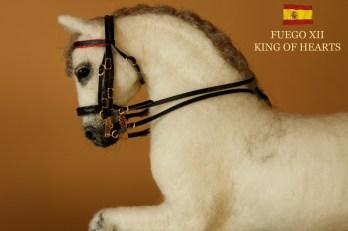 ANDALUSIAN HORSE fUEGO