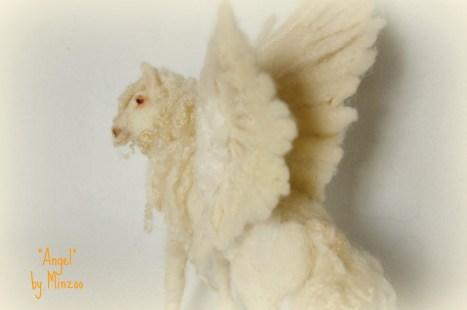 white pegasus horse