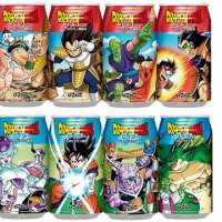 Dragon Ball soda drinks