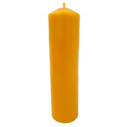 Medium pillar beeswax candle
