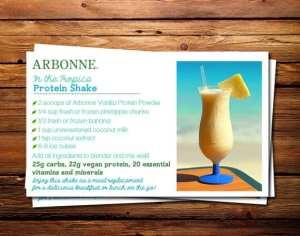 arbonne protein shake recipes