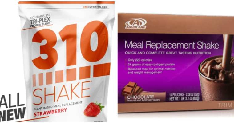 310 Shake vs Advocare Meal Replacement Shake Review