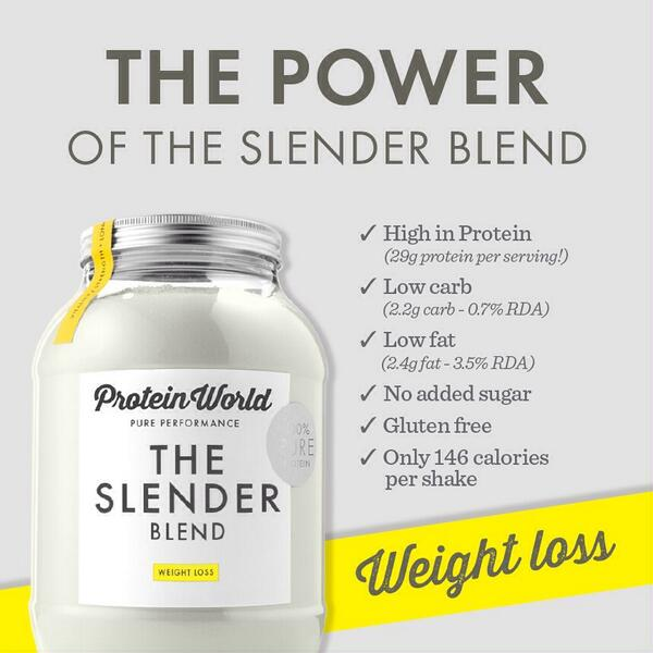 Protein World Slender Blend Reviews