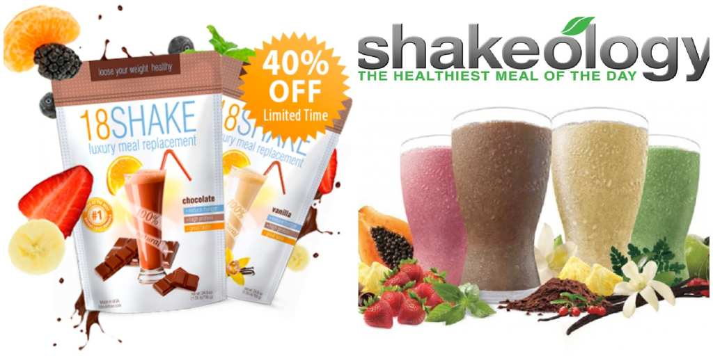 18 Shake vs Shakeology review