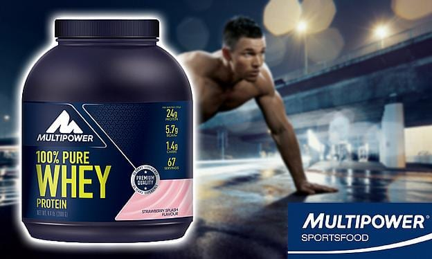 multipower whey protein powder reviews