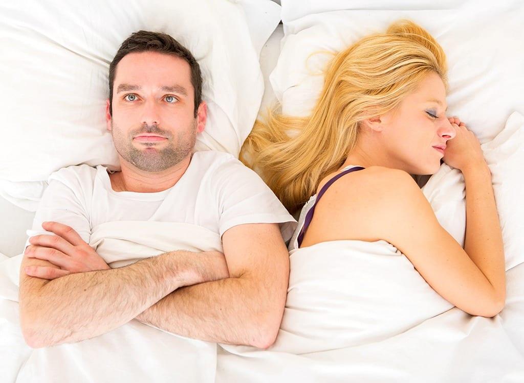 Less stress more sex