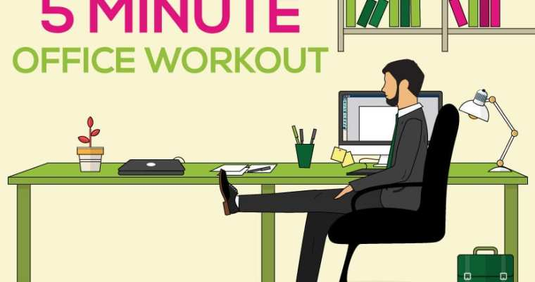 7 Desk Exercises to Ease Lower Pains and Aches