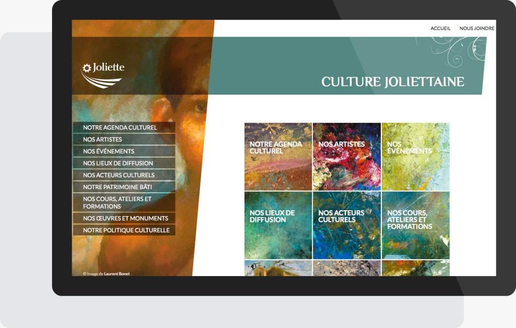 Portfolio Mioudesign - Culture joliettaine