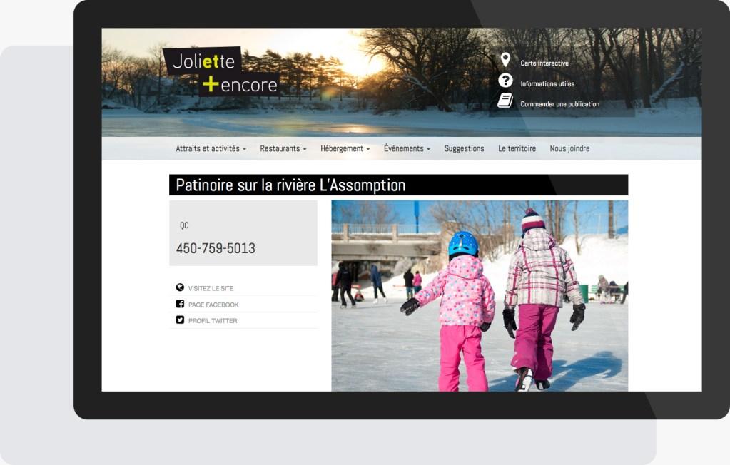 Portfolio Mioudesign - Tourisme Joliette