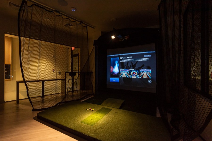 Sports simulator for all residents
