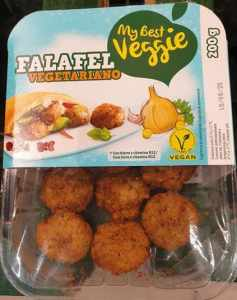 Falafel vegetariano Lidl calidad