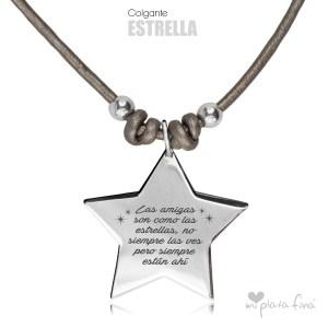 Top 10 colgantes de plata más vendidos - Colgante Estrella