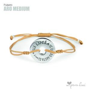 Top 10 pulseras de plata más venidas - Pulsera ARO Medium