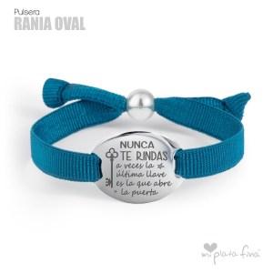 Top 10 pulseras de plata más venidas - Pulsera Rania OVAL