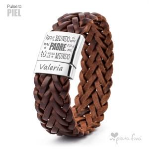 Top 10 pulseras de plata más venidas - Pulsera de Piel para Hombre