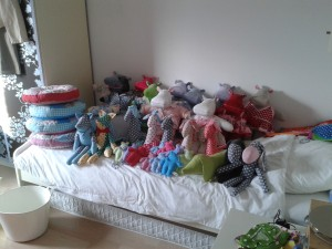 plushies, stuffed animals