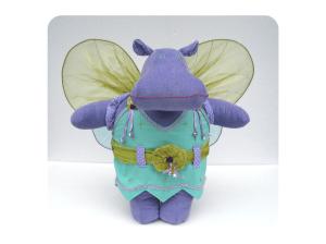 tinky stuffed hippo