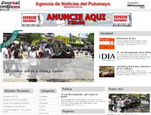 Nuevo portal de Noticias del Putumayo