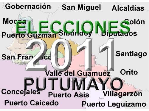 Arranca el pulso por las elecciones 2011 en el Putumayo