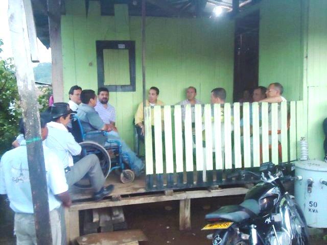 Representante Ochoa Recorre Municipios del Departamento del Putumayo.