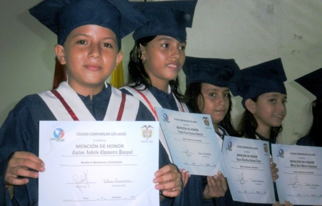 Grados de Primaria – Colegio Comfamiliar del Huila, Los Lagos