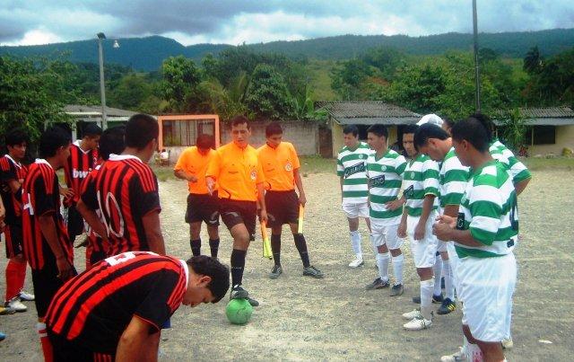 Interbarrios de Futbol en Mocoa, la Gran Final!!