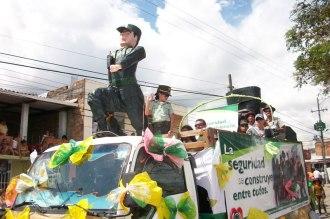 Carroza Policia Putumayo