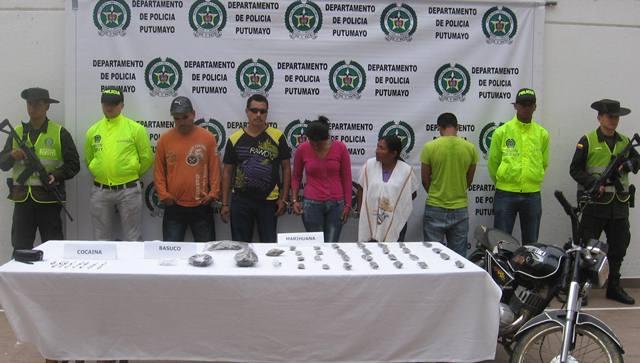 Capturadas siete personas dedicadas al expendio de alucinógenos