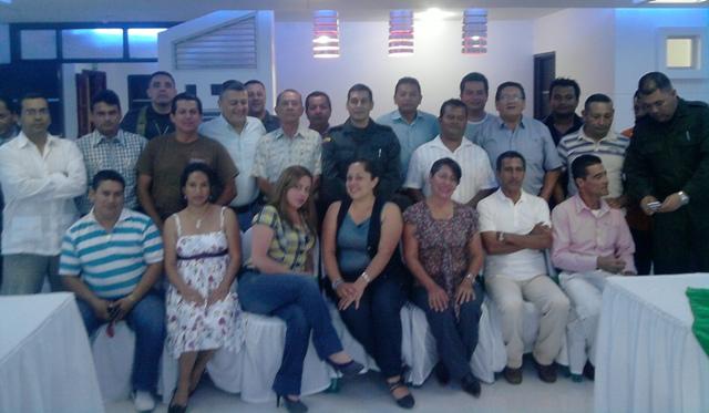Departamento de Policía Putumayo agasaja a Periodistas en Mocoa
