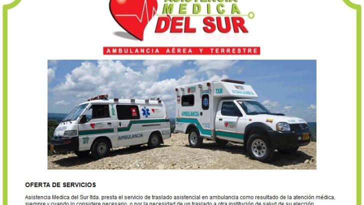 Asistencia Médica del Sur – Ambulancias. Estados Financieros