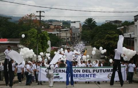 marcha por la paz putumayo 1