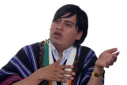 Indi Iaku Sigindioy, de 29 años, es nativo del pueblo Camëntsá. FOTO COLPRENSA