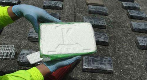 La Policía, el Ejército, la Armada y el CTI de la Fiscalía incautaron 2.5 toneladas de cocaína en menos de un mes. Foto: Cortesía de Policía